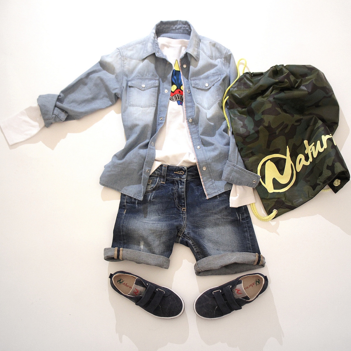 denim and kids fashion