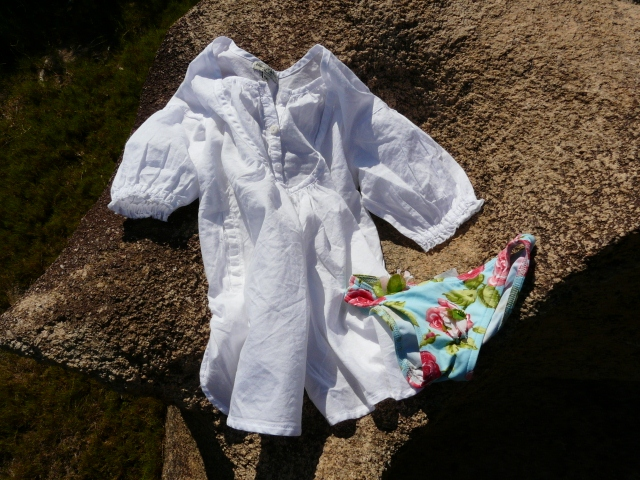 outfit bambine mare sardegna