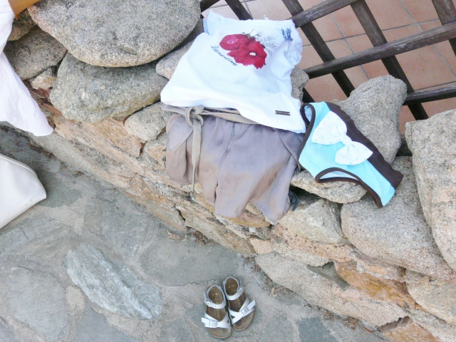 outfit sardegna bambine