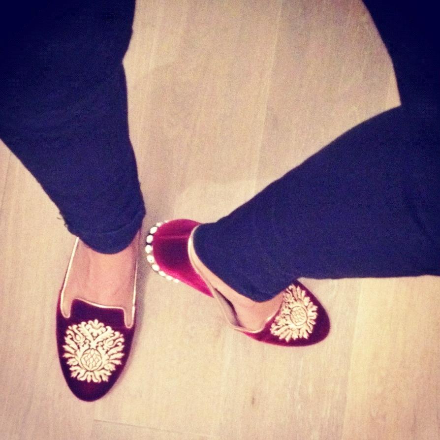 miu miu slipper