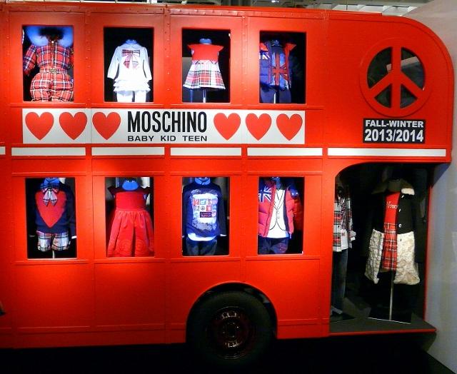 RED AND MOSCHINO AT PITTI BIMBO 2013