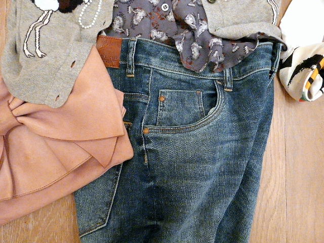 MOM and DAUGHTER'S OUTFITS DADDY BIRTHDAY - zara jeans