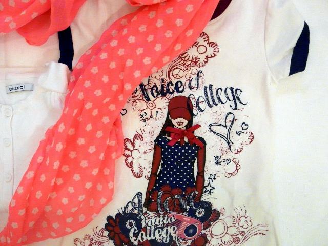 OKAIDI FLUO and SARABANDA DRESS - dress for kids