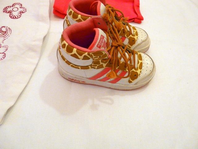 OKAIDI FLUO and SARABANDA DRESS - adidas shoes