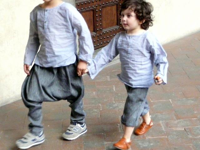 SFILATA CAFFELATTEACOLAZIONE i bambini e la moda