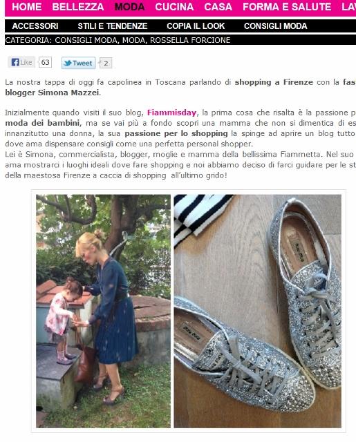 SHOPPING A FIRENZE I MIEI CONSIGLI SU Donna-in.com moda