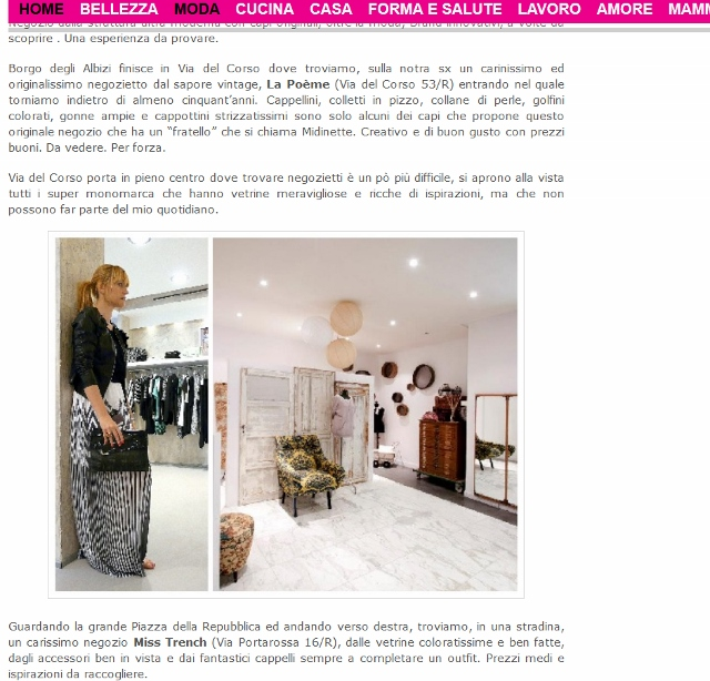 aef528c704a9 SHOPPING A FIRENZE  I miei consigli da FASHION BLOGGER per DONNA-IN ...