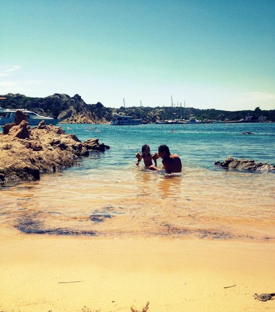 ISOLA de LA MADDALENA la spiaggia del polpo