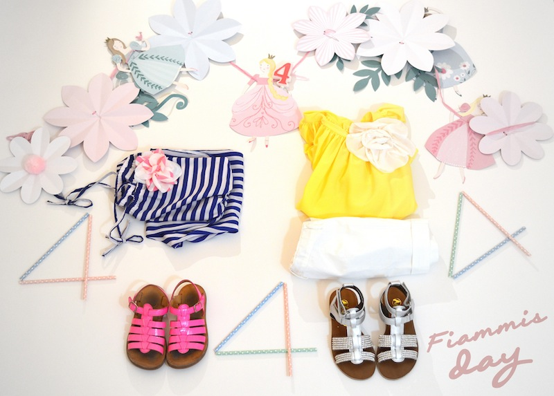 outfit bambini per compleanno