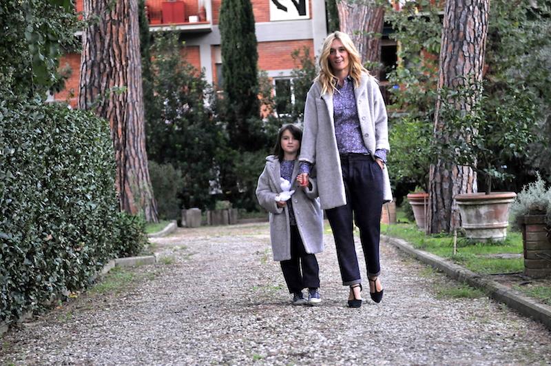 STESSO LOOK per MAMMA E FIGLIA e caffelatteacolazione
