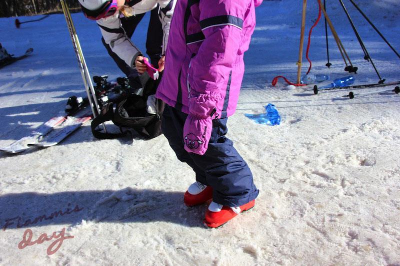 LO SCI E I BAMBINI sulla neve