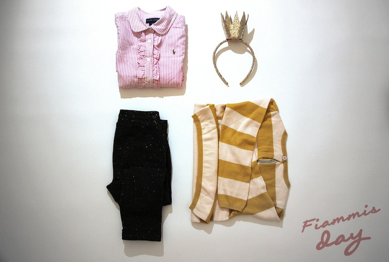 RIGHE E COLONNE moda bambino