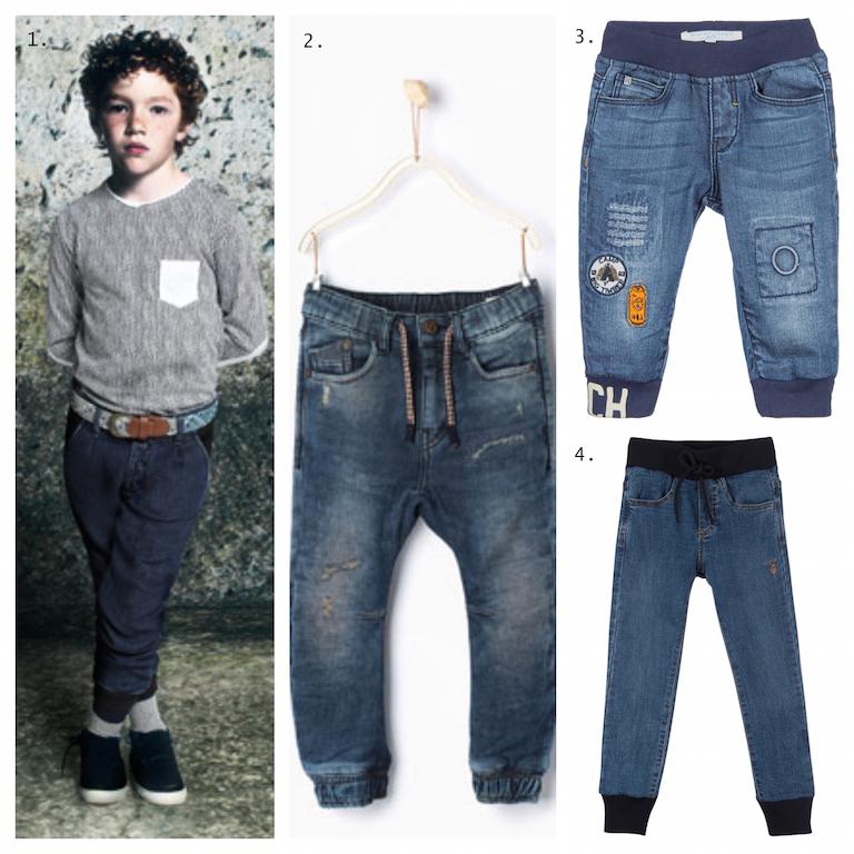 jeans elastico bambini
