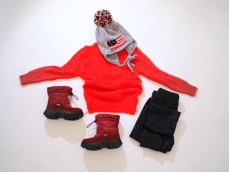 Come vestire i bambini in montagna