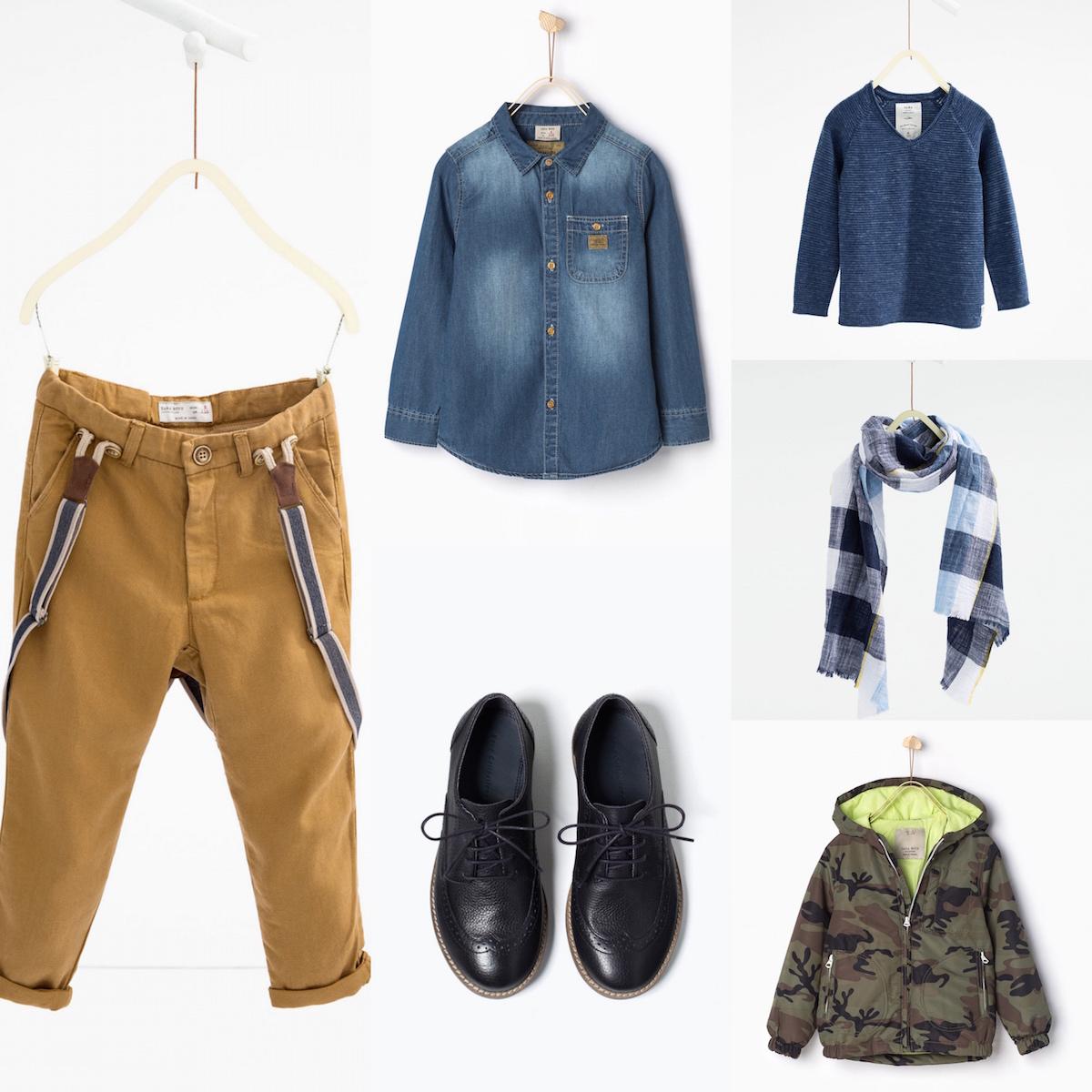 Novità di Zara Kids per i maschietti alla moda