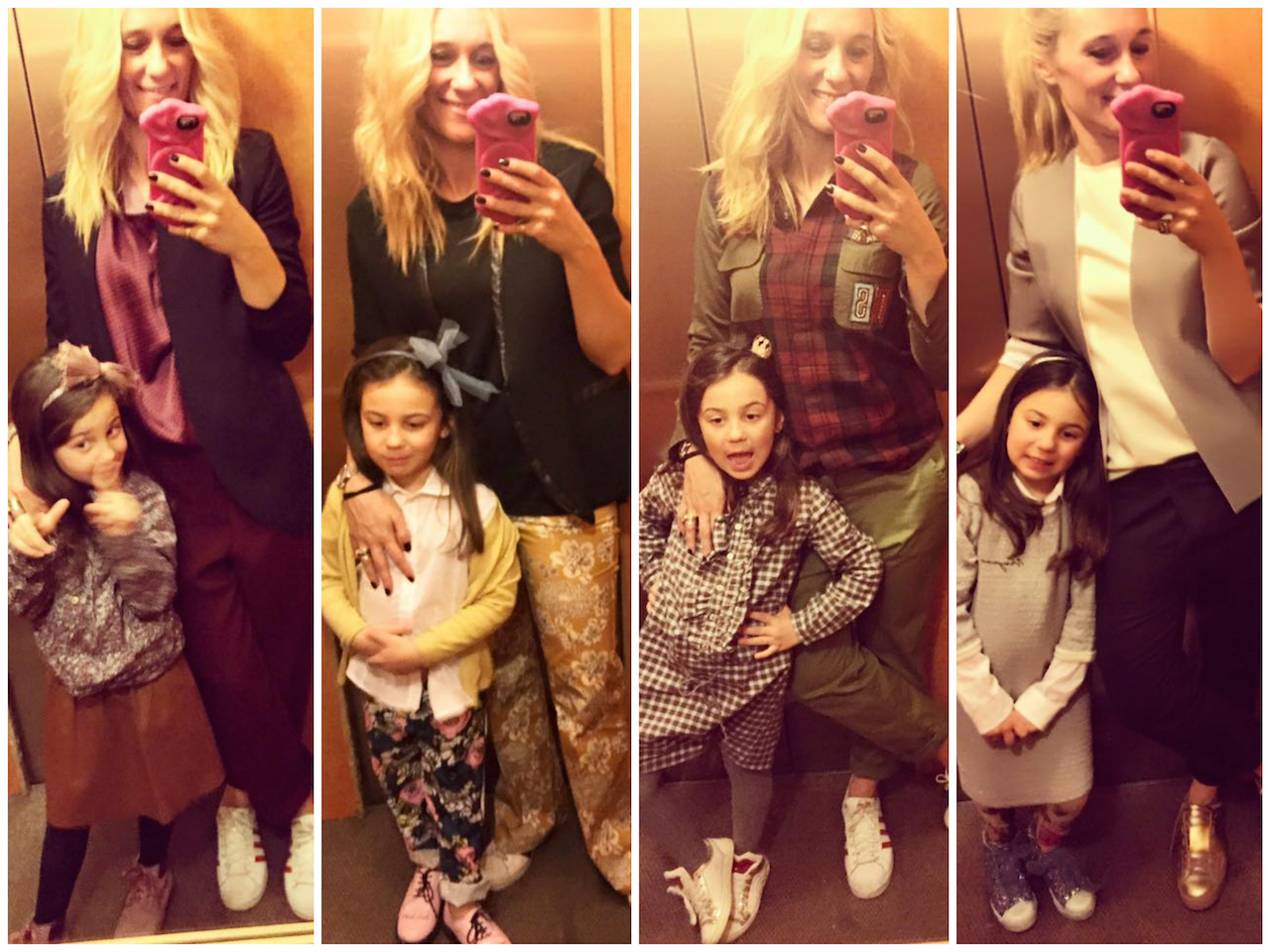 look estivi mamma e figlia