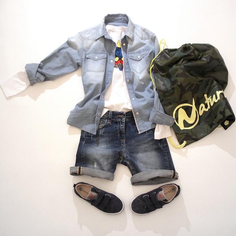 denim e moda bambino