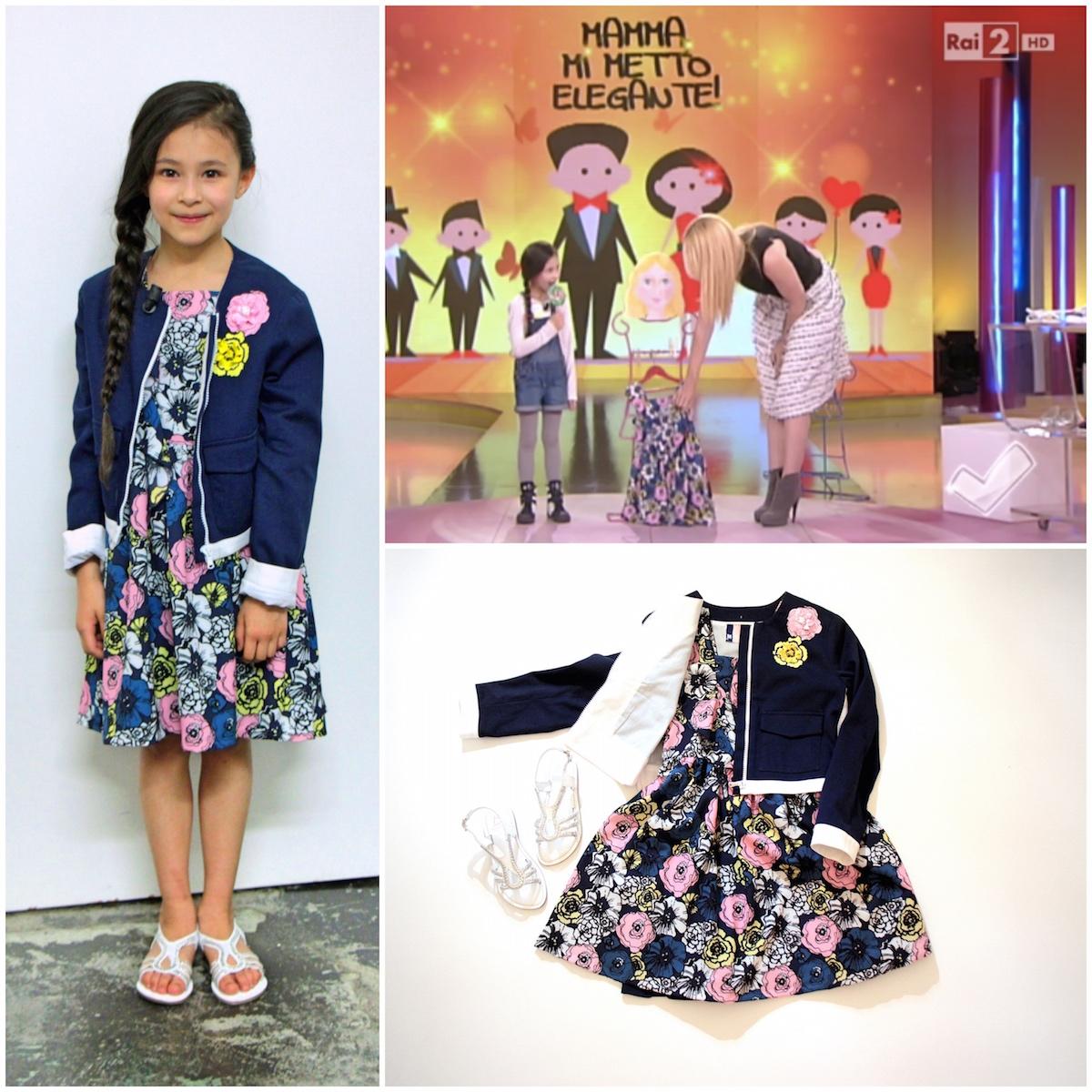 pretty nice a7cf8 66fd1 Vestiti da cerimonia per bambini e la moda che si riutilizza