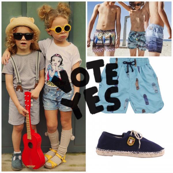 come vestire i bambini in estate