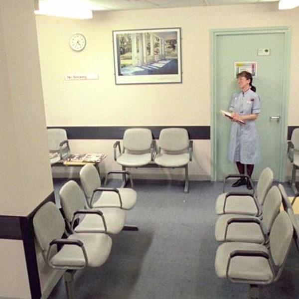 stanza d'attesa