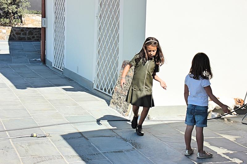 abito in pelle per bambini