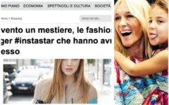 fashion blogger italiane e nuovi mestieri