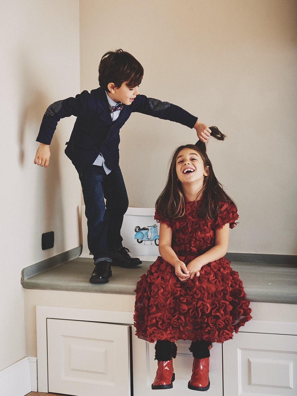 come vestire i bambini per natale