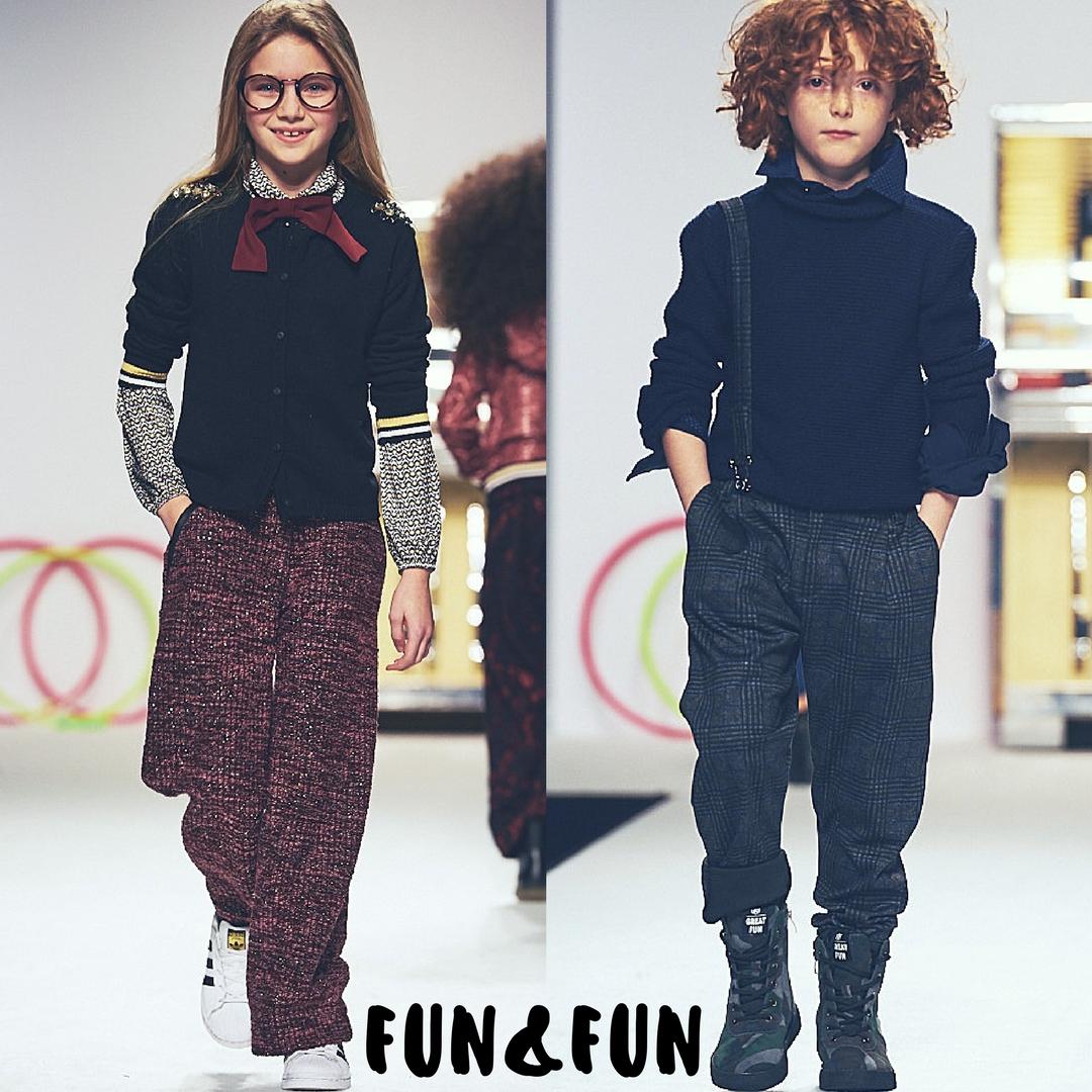 fun & fun sfila al Pitti Bimbo e la moda bambino
