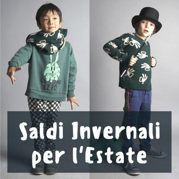 saldi invernali bambini e acquisti online di moda