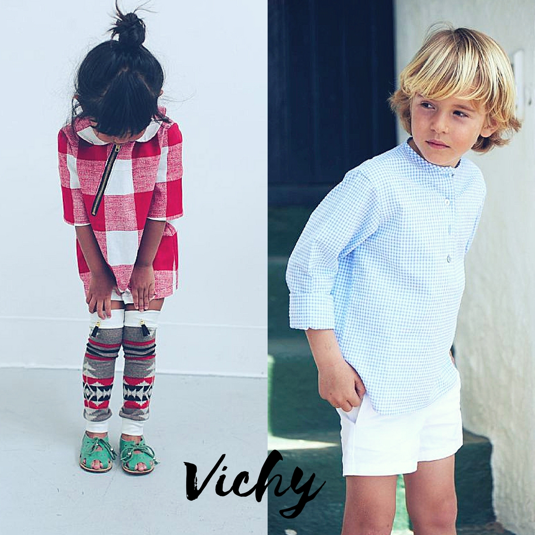 8f9c74e757 La fantasia Vichy per i bambini e 3 modi per abbinarla. Per tutti i ...