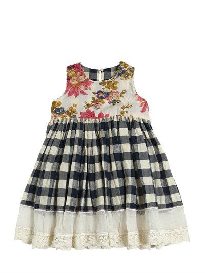 la fantasia vichy nella moda bambino