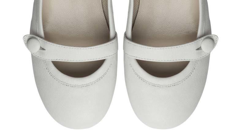 abito bianco per la Prima Comunione e come vestire le bambine scarpe