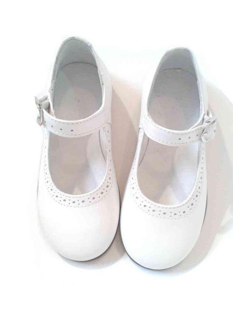 abito bianco per la prima comunione scarpe cerimonia