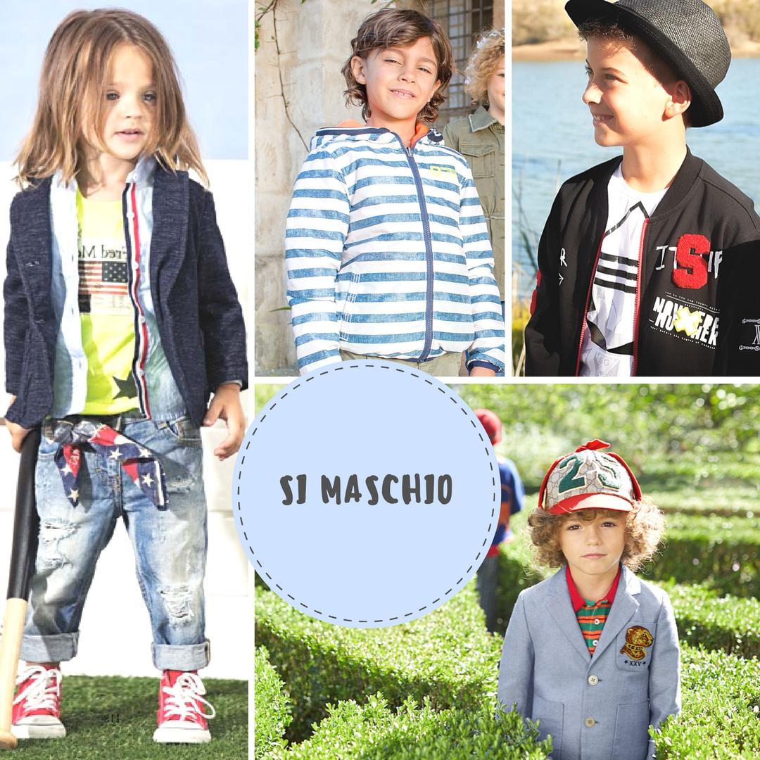 look bambino per la primavera e moda maschi