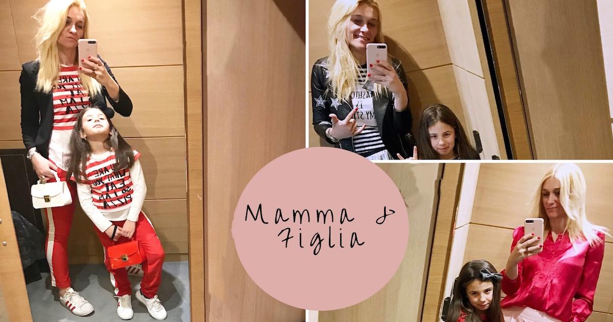 abbigliamento coordianto mamma bambina