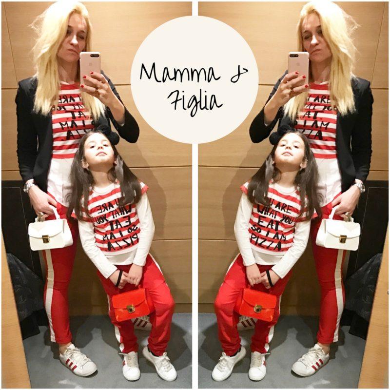 abbigliamento coordinato mamma bambina