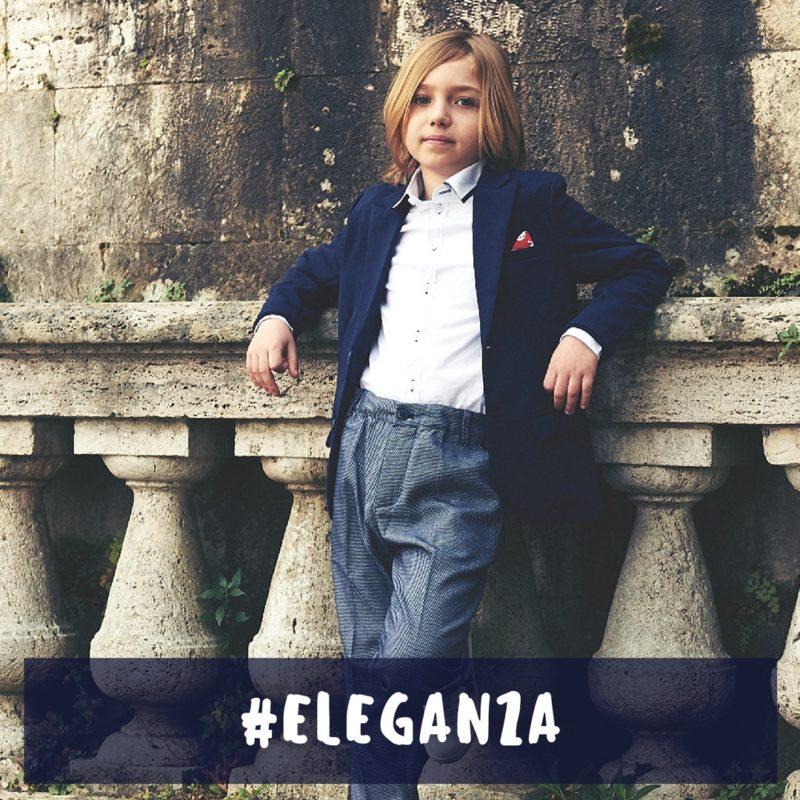 come vestire un bambino elegante