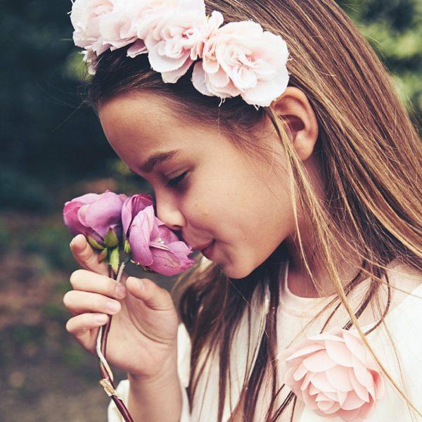 i fiori e i bambini | la moda bambino