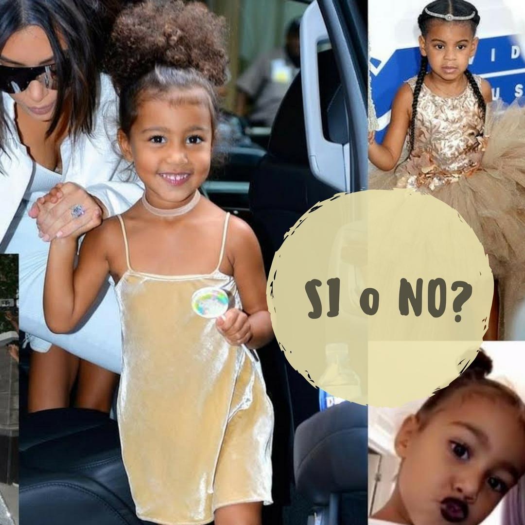 outfit di North West la figlia di Kim Kardashian