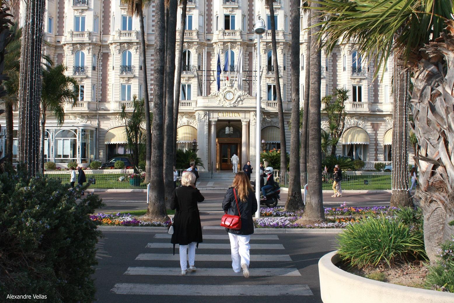 Stile e Moda a Cannes Carlton Hotel
