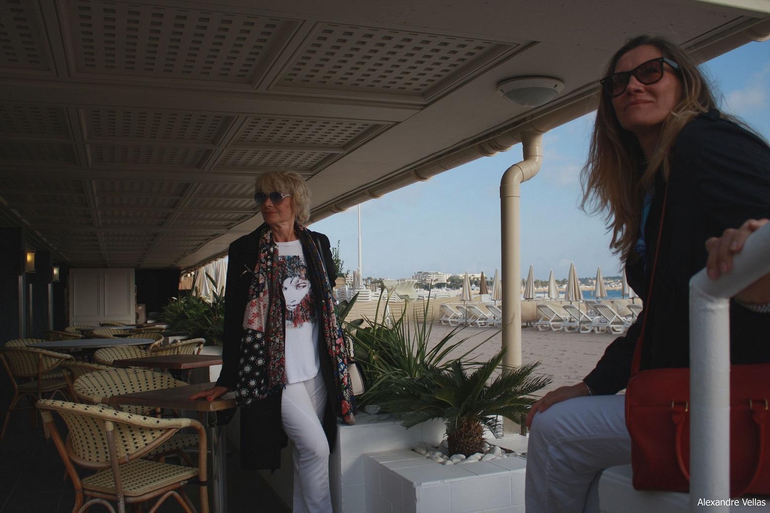 Stile e Moda a Cannes hotel Carlton la plage