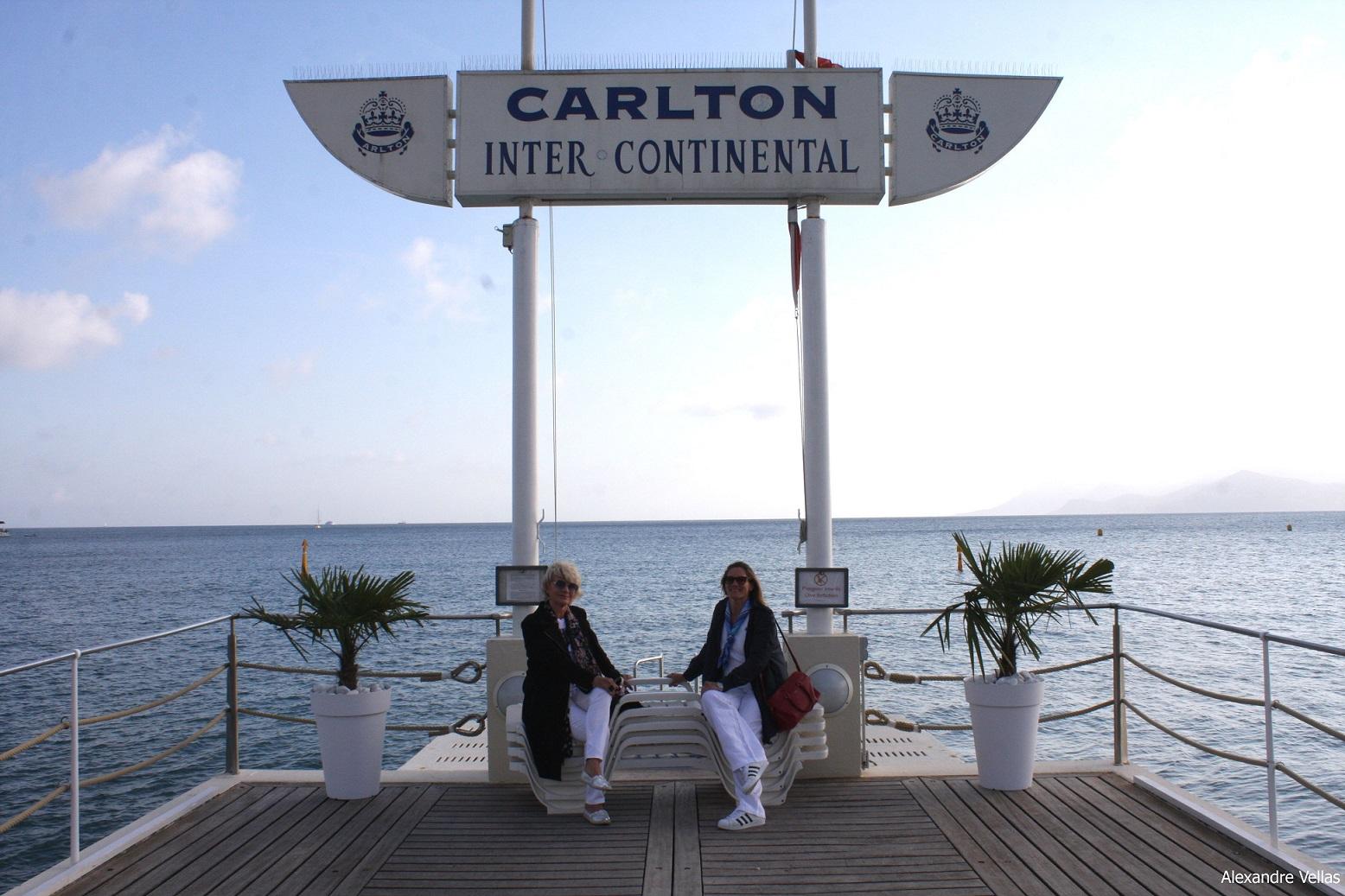 Stile e Moda a Cannes il pontile del Carlton