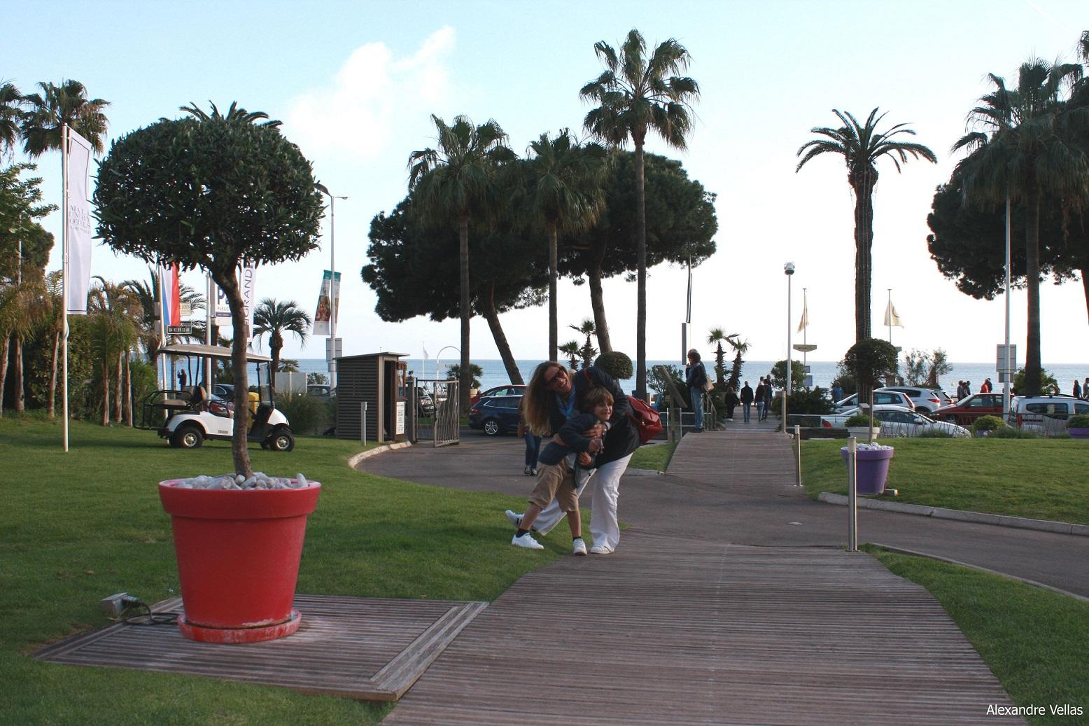 Stile e moda a Cannes les jardins du Grand Hotel