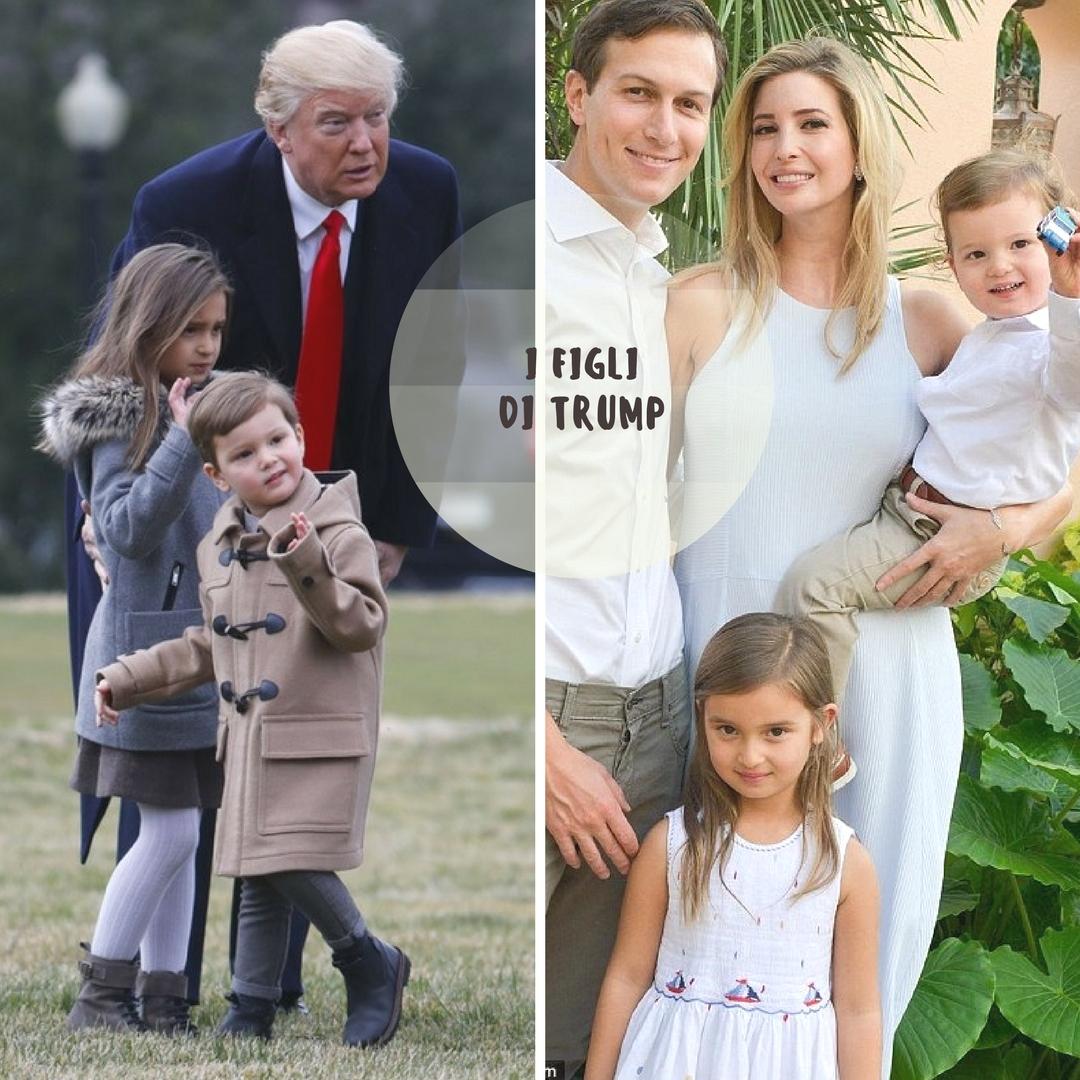 i figli di Trump e la moda bambino