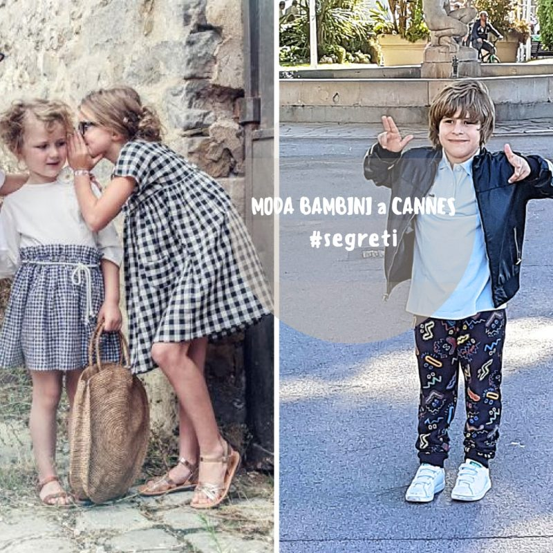 la moda bambini a cannes