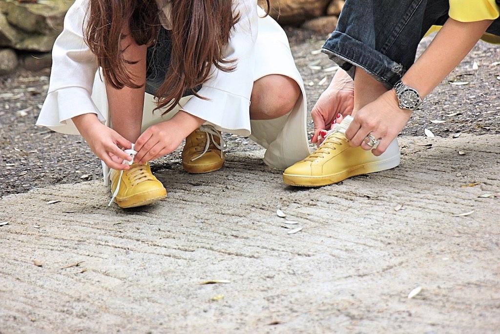 scarpe mamma e figlia mini me