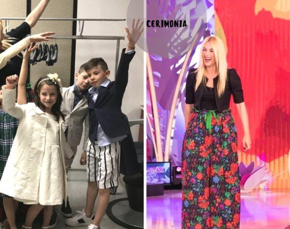 vestire un bambino per una Cerimonia e comodità