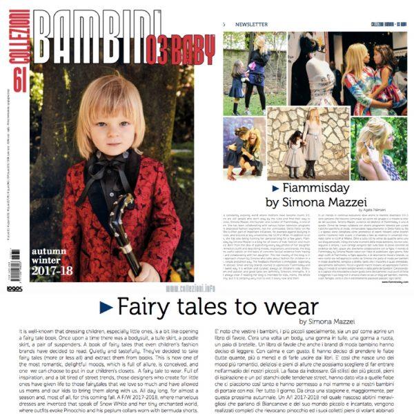 blogger di moda bambini e giornalista