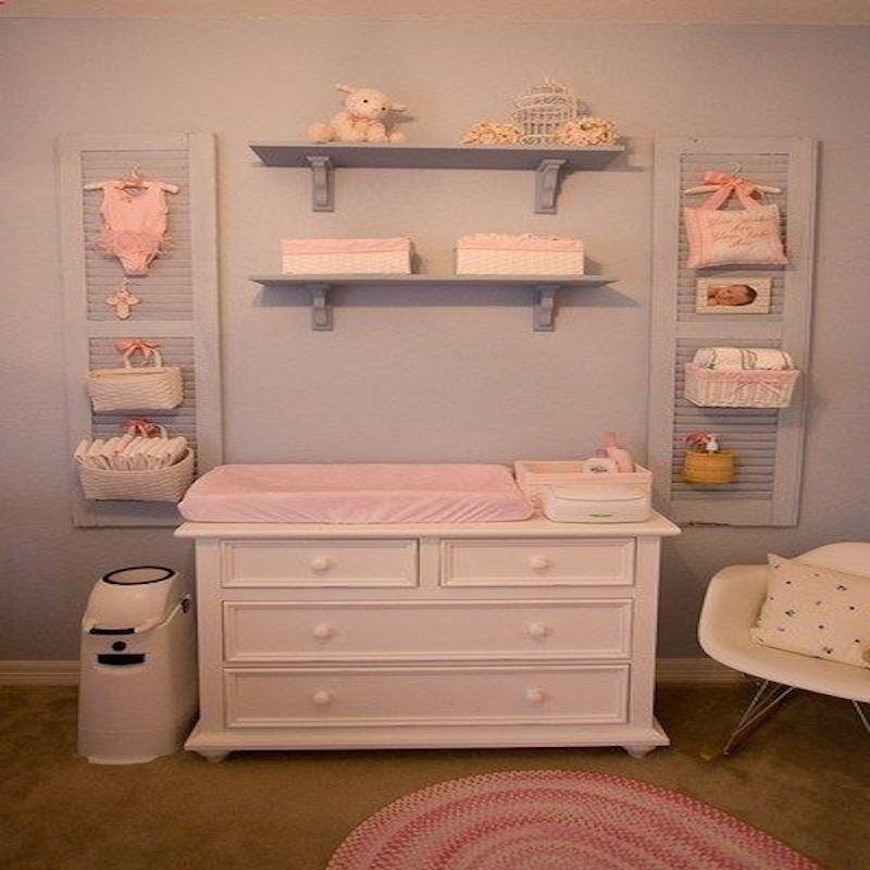 Come organizzare il fasciatoio del neonato per il cambio - Fasciatoio bagno ...