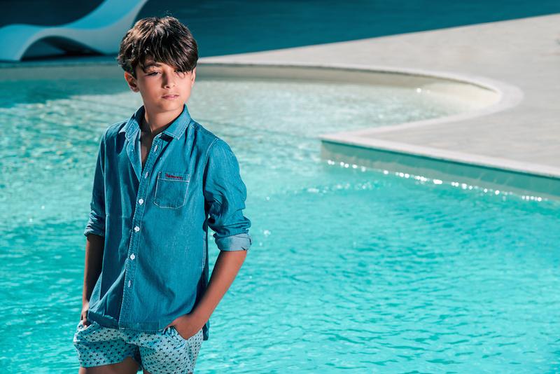 Costumi da mare per bambini: trendy al mare con Jeckerson